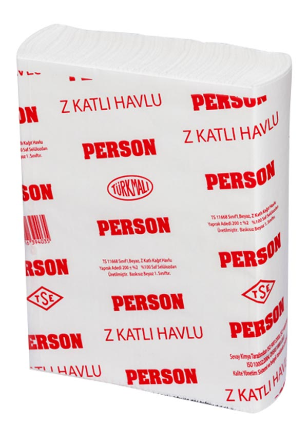 PERSON DİSPENSER Z HAVLU (200'LÜ PAKET)
